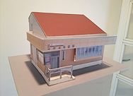 おおとも歯科の建築模型